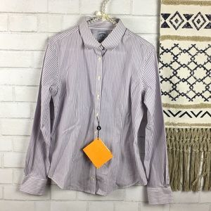 Brooks Brothers Ladies Fitted Shirt Size 8